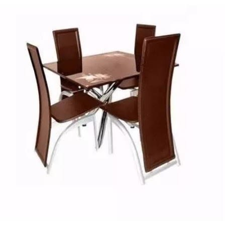 4 Seater Glass Dining