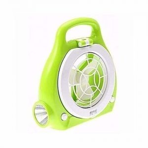 Rechargeable Light with Fan