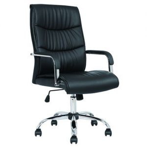 Swivel Office Leather Chair