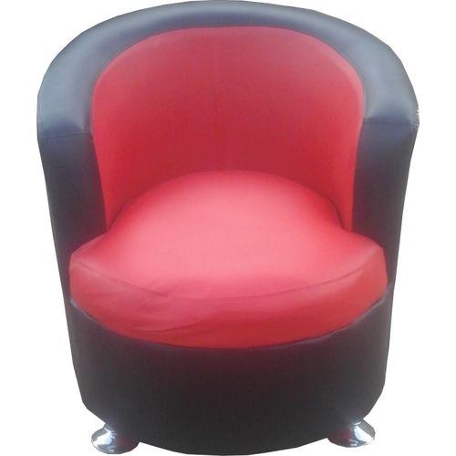 red black sofa