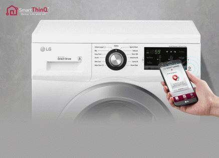 LG Washing Machine 2J5NNP3W