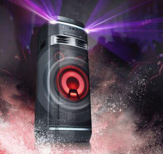 LG Xboom System AUD75OK