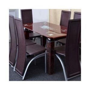 Glass Dining 6 Seater