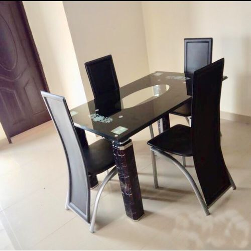 6 Seater Glass Dining