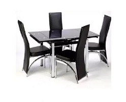 Extending Glass Dining Set