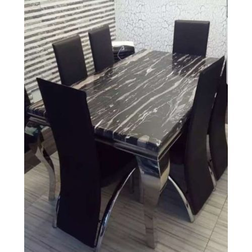 6 Seater Marble Dining