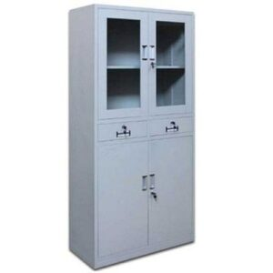 Metal Glass File Cabinet