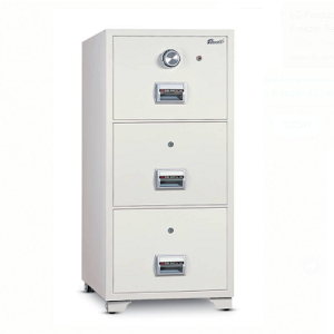 3 Drawer Fireproof Filing Cabinet