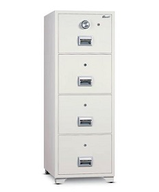 4 Drawer Fireproof Filing Cabinet