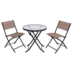 Foldable Outdoor Table and Chair